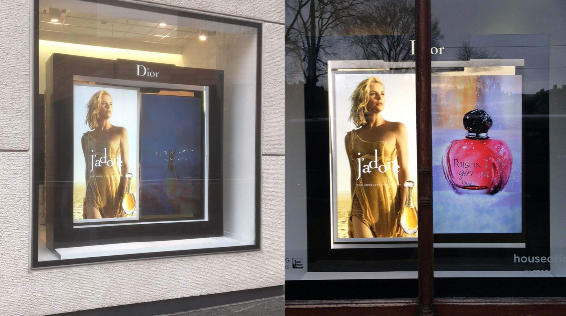 Dior J'ador Window Display