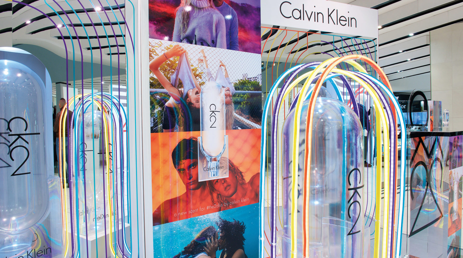 Calvin Klein CK2 Launch in Debenhams