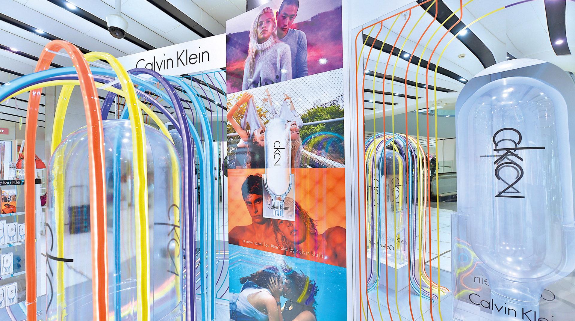 Calvin Klein CK2 Launch in Debenhams