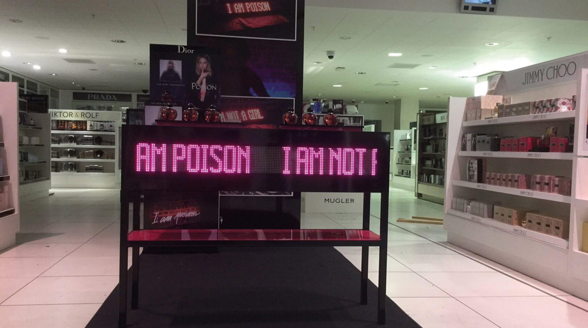 Dior Poison Girl Debenhams Oxford Street