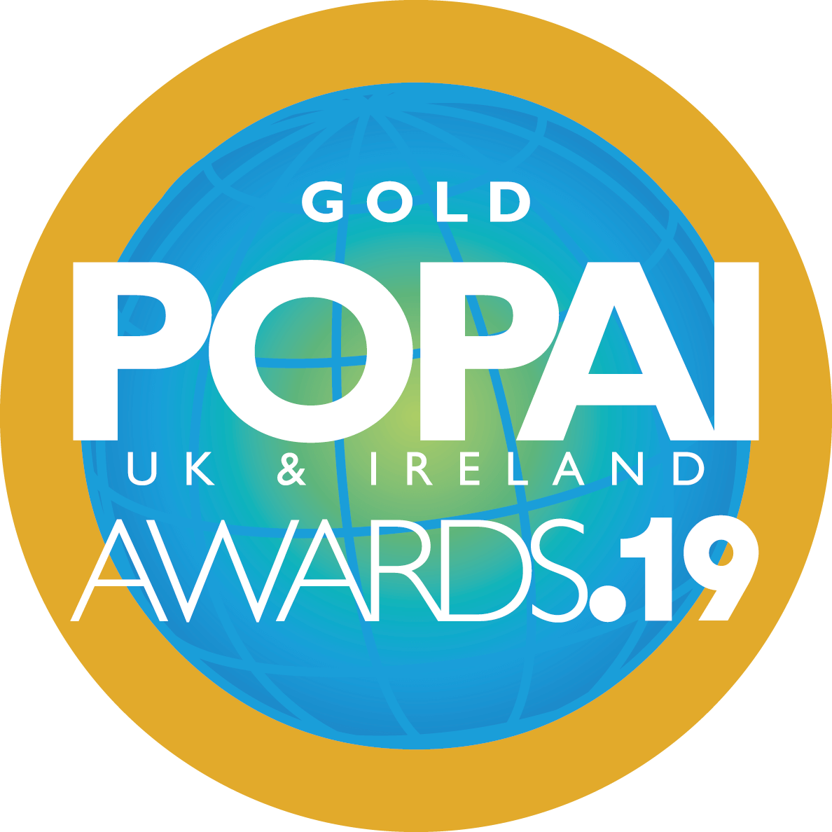 Gold POPAI award
