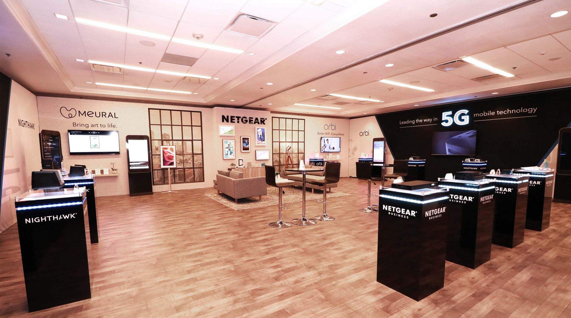 Netgear Exhibition CES Las Vegas 2019