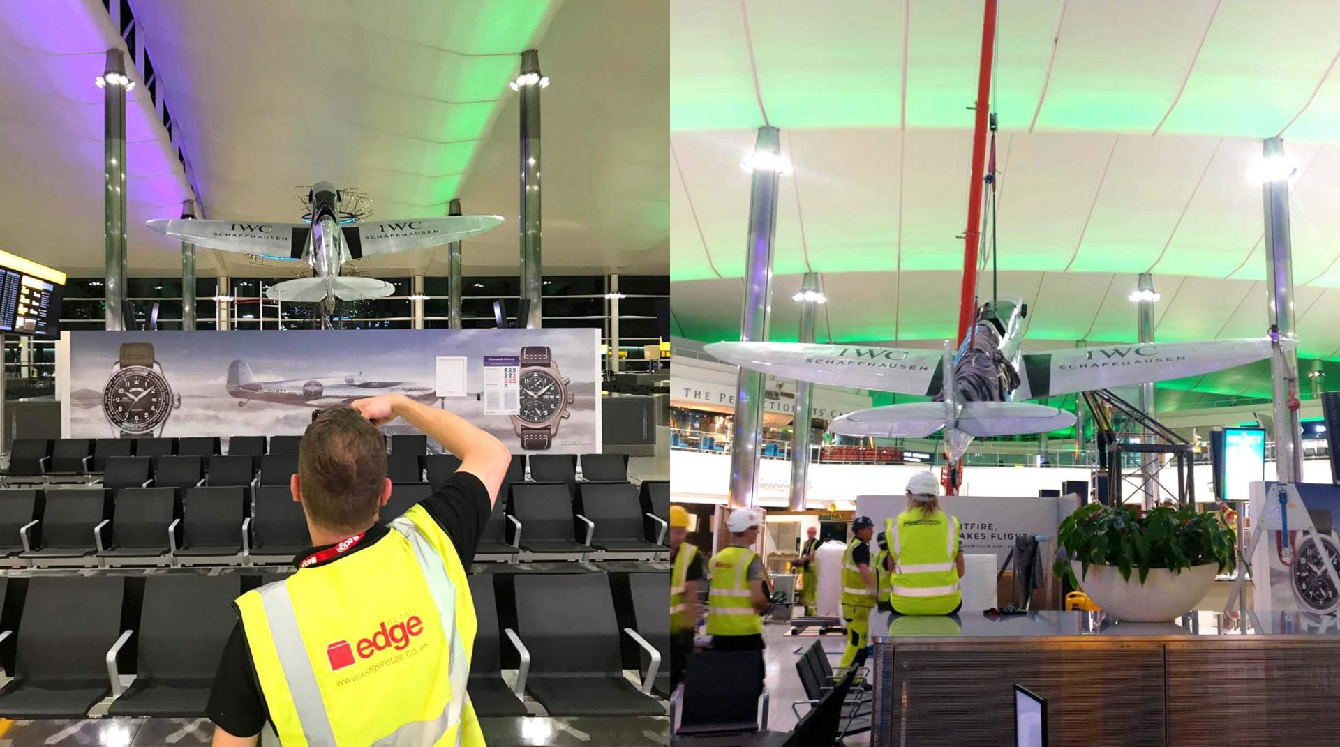 IWC Heathrow Spitfire build