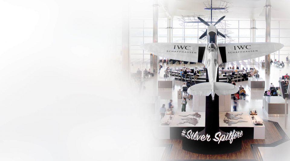 IWC Silver Spitfire – Heathrow T2