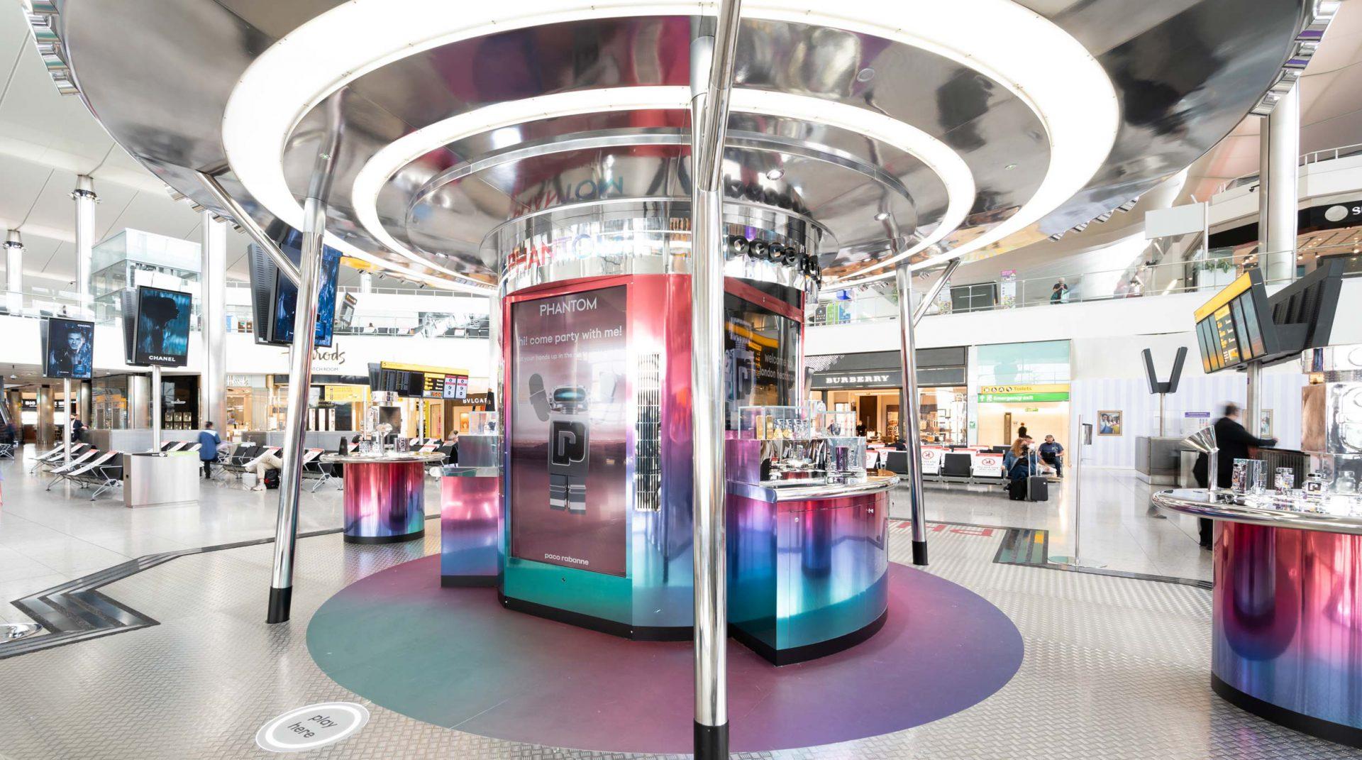 Paco Rabanne Phantom Heathrow Terminal 2
