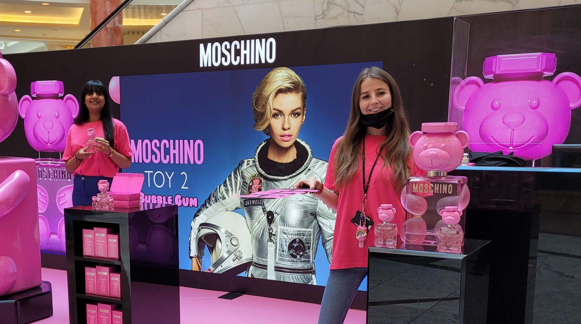 Moschino Bubblegum sites